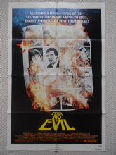 Fear No Evil, Original Movie Poster, Frank LaLoggia, ZOMBIE film, '81